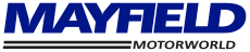 Mayfield Motorworld Blenheim logo